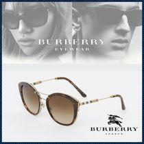 Burberry バーバリー / サングラス Check Rounded