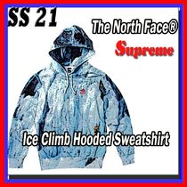 SS 21 Supreme The North Face Ice Climb Hooded Sweatshirt