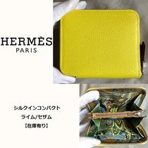 HERMES コンパクトウォレット Silk'in シルクインコンパクト