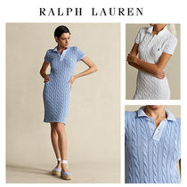 【Ralph Lauren】大人気★ワンピ★Cable-Knit Polo Dress