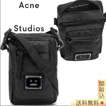 Acne(アクネ) ショルダーバッグ 【ACNE STUDIOS】ARVEL PLAQUE FACE CROSSBODY BAGS