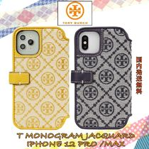 【国内発送】関税込みT MONOGRAM JACQUARD IPHONE 12 PRO /MAX