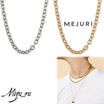 【MEJURI(メジュリ)】Drawn Cable Chain Necklace