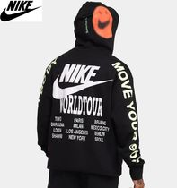 【NIKE】スマイルフーディSportswear Stacked French Terry