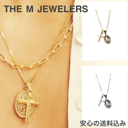 【THE M JEWELERS】2色 グアダルーペ クロス ネックレス