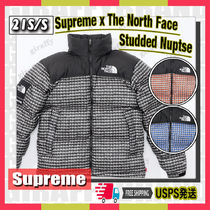 【21SS】SUPREME x The North Face Studded Nuptse [追跡付き]