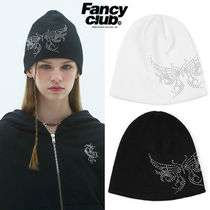 ★NASTY FANCY CLUB★送料込み★韓国★BUTTERFLY CRYSTAL BEANIE