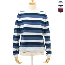 JOHN SMEDLEY ニット DAYLYN STRIPED SWEATER RN LS