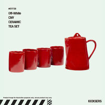 人気話題!Off-White CNY CERAMIC TEA SET