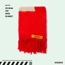 人気話題!Off-White CNY WOOL BLANKET