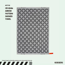 人気話題!Off-White ARROW PATTERN SHOWER TOWEL