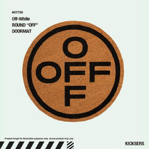 "人気話題!Off-White ROUND ""OFF"" DOORMAT"