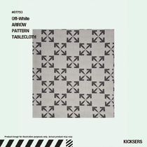 人気話題!Off-White ARROW PATTERN TABLECLOTH