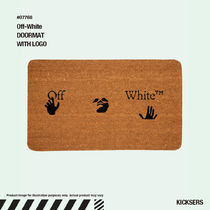 人気話題!Off-White DOORMAT WITH LOGO