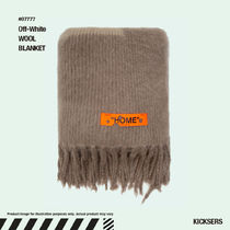 人気話題!Off-White WOOL BLANKET