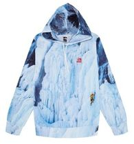 21 SS Supreme × The North Face Ice Climb Hooded Sweatshirt