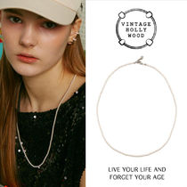VINTAGE HOLLYWOOD★Petit Pearl Long Necklace/追跡付