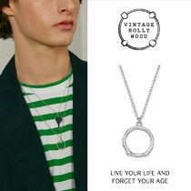 VINTAGE HOLLYWOOD★Rough Ring Necklace/追跡付
