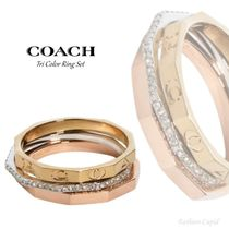 【COACH】Tri Color Ring Set リング セット