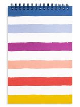 kate spade new york・Small Candy Stripe Top Spiral Notebook