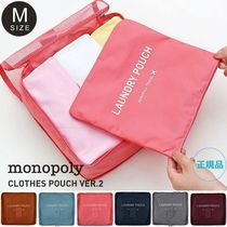 monopoly(モノポリー) ポーチ MONOPOLY  CLOTHES POUCH VER.2 [size M] トラベルポーチ
