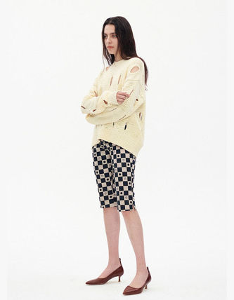 TheOpen Product ニット・セーター サンダラ着用☆Cut-Out Cotton Sweater/全3色/TheOpen Product(8)