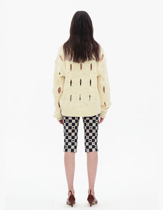 TheOpen Product ニット・セーター サンダラ着用☆Cut-Out Cotton Sweater/全3色/TheOpen Product(9)