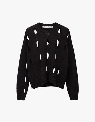 TheOpen Product ニット・セーター サンダラ着用☆Cut-Out Cotton Sweater/全3色/TheOpen Product(12)