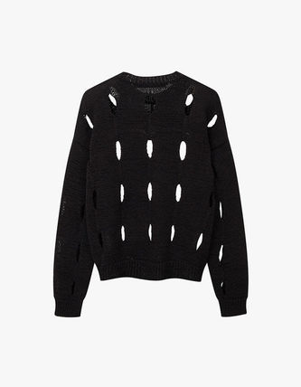 TheOpen Product ニット・セーター サンダラ着用☆Cut-Out Cotton Sweater/全3色/TheOpen Product(13)