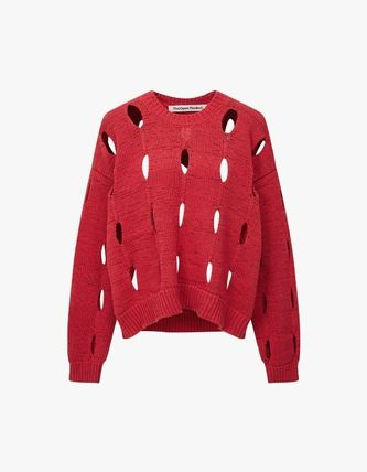 TheOpen Product ニット・セーター サンダラ着用☆Cut-Out Cotton Sweater/全3色/TheOpen Product(14)