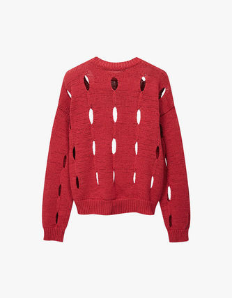 TheOpen Product ニット・セーター サンダラ着用☆Cut-Out Cotton Sweater/全3色/TheOpen Product(15)