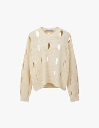 TheOpen Product ニット・セーター サンダラ着用☆Cut-Out Cotton Sweater/全3色/TheOpen Product(16)