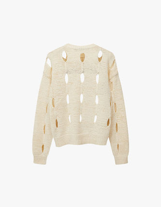 TheOpen Product ニット・セーター サンダラ着用☆Cut-Out Cotton Sweater/全3色/TheOpen Product(17)