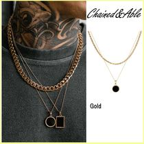 【Chained&Able】MINI ONYX MEDALLION ROPE LAYER☆ネックレス☆
