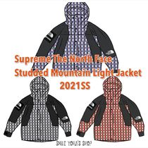 ★21SS★Supreme The North Face Studded Mountain Light Jacket