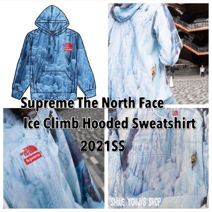 ★21SS★Supreme The North Face Ice Climb Hooded Sweatshirt