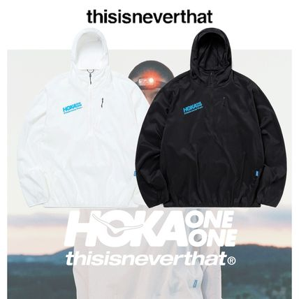 TNT - TNT HOKA Wind-Resistant Hooded Pullover (2color)