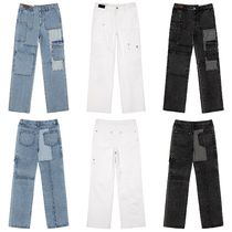 ★Andersson Bell_PATCHWORK DENIM WIDE-LEG JEANS★