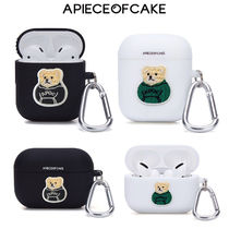 A PIECE OF CAKE(ピースオブケイク) テックアクセサリー ★A PIECE OF CAKE★送料込み Patch Bear AIRPODS/PRO Case
