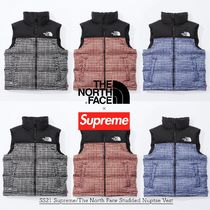 SS21 Supreme The North Face Studded Nuptse Vest - ヌプシ