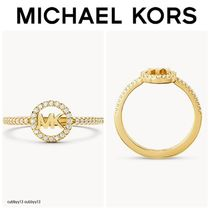 Michael Kors【リング】 14k Gold-Plated Sterling Silver