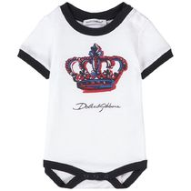 2021SS D&G Baby クラウンプリントロンパー WH(B-30m)
