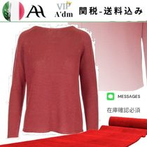VIP◆Red linen sweater