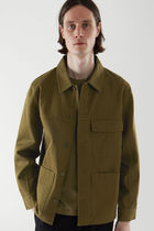"""COS"" Men's新作☆WORKWEAR JACKET(khaki green)"