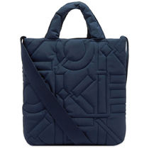 KENZO DEBOSSED RECYCLED FABRIC トートバッグ