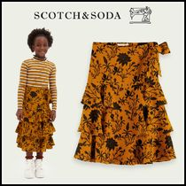 大人もOK♪ ☆Scotch & Soda☆ Maxi printed ruffle skirt