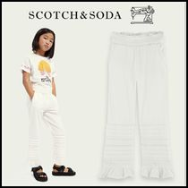 大人もOK♪ ☆Scotch & Soda☆Ruffled straight cotton trousers