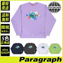 【Paragraph】21SS★ Painting Embroidery Sweatshirt No.31