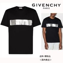 【GIVENCHY】T-SHIRT IN COTONE STAMPA GIVENCHY <関税込>