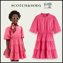 2021SS新作 ☆Scotch & Soda☆ A-line organic cotton dress